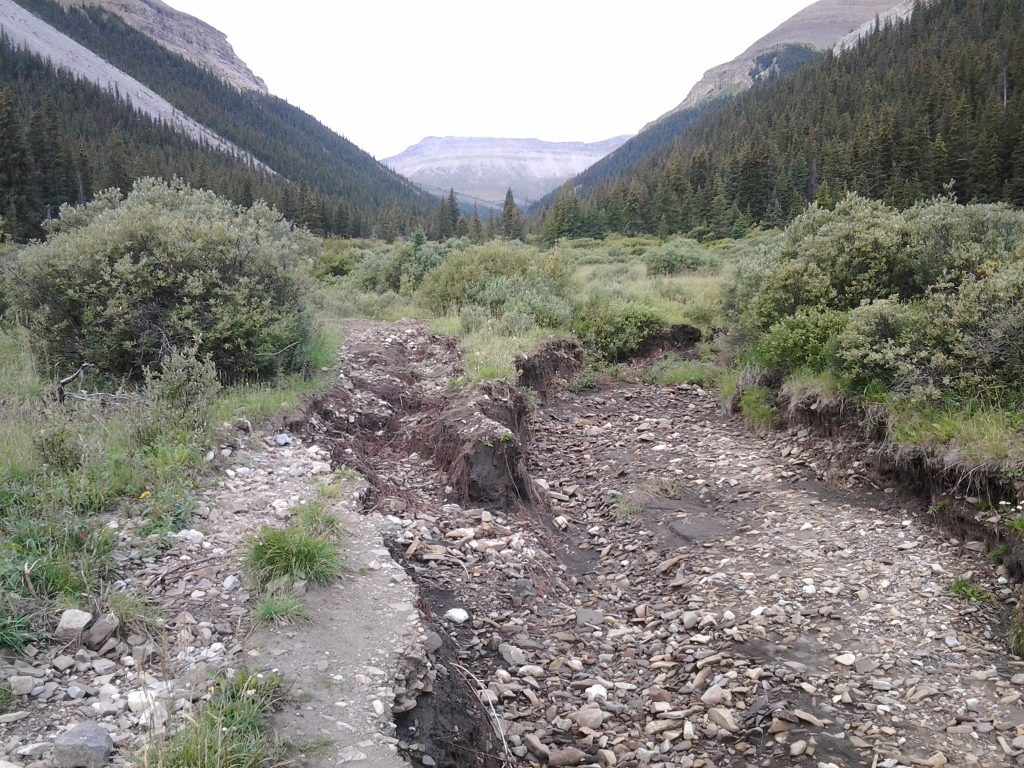 Significant Trail Erosion. AWA Files