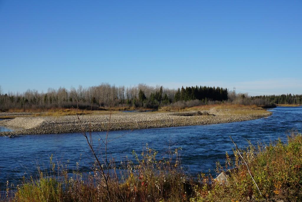 Red Deer River. Photo J. Skrajny