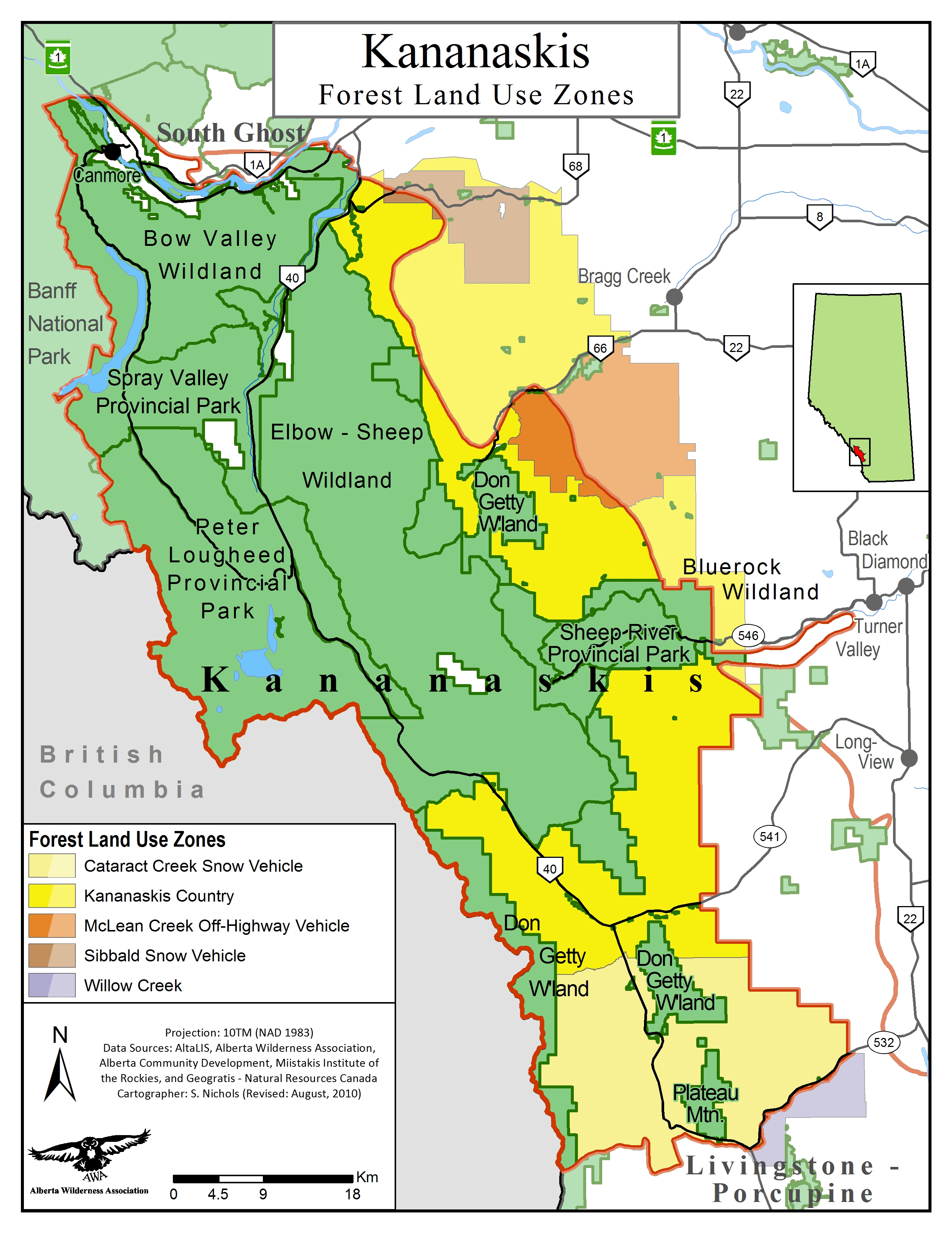 Kananaskis - Alberta Wilderness Association