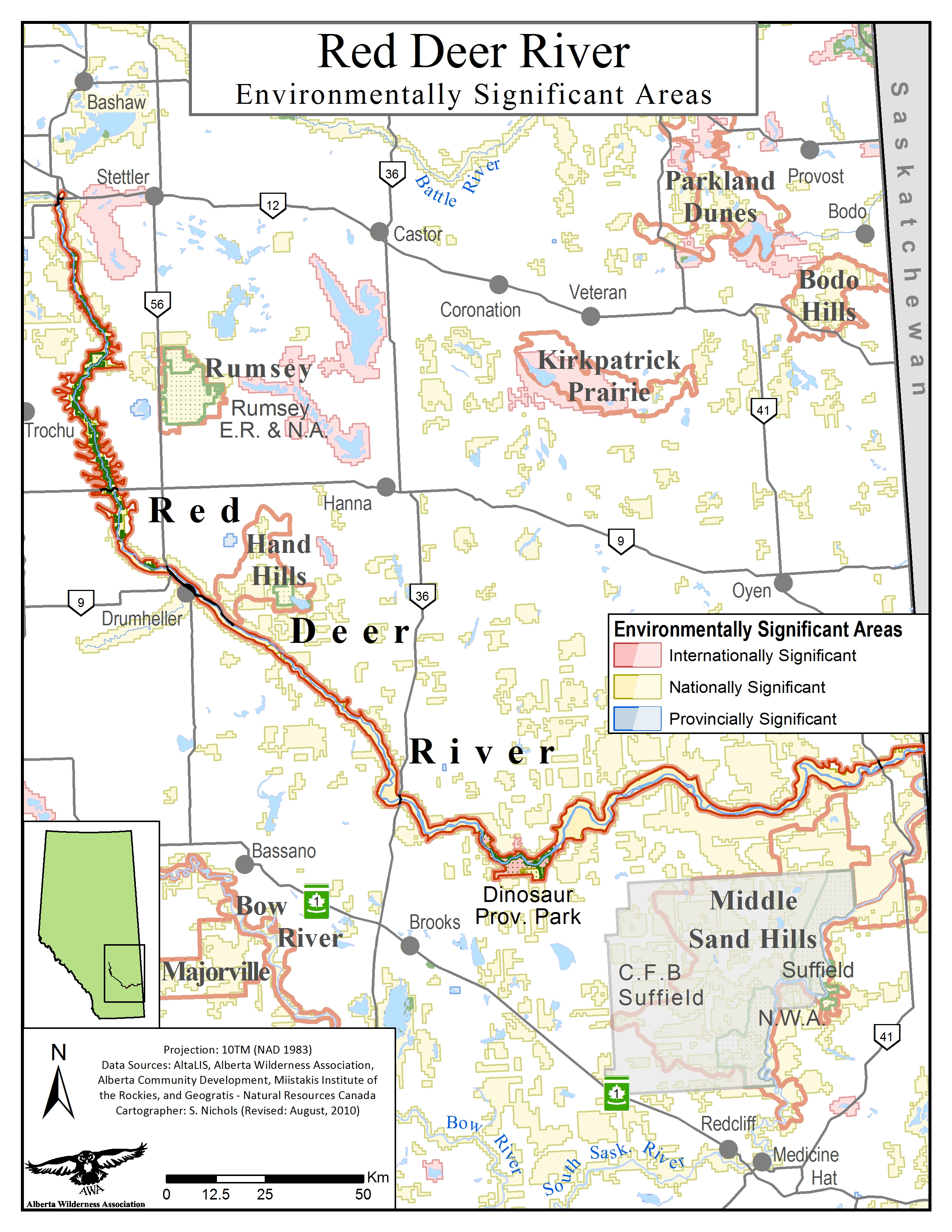 Red Deer River - Alberta Wilderness Association