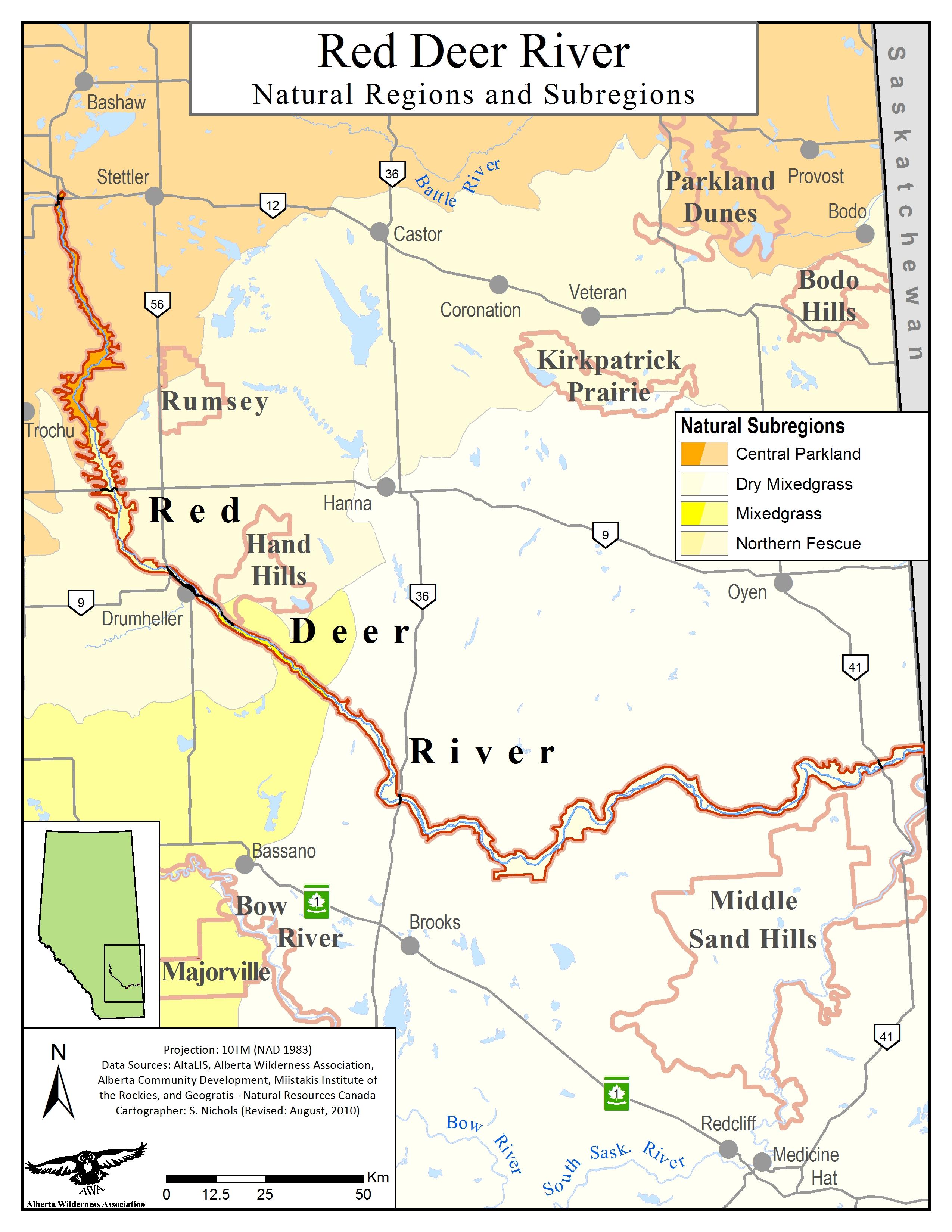 Red Deer River - Alberta Wilderness Association