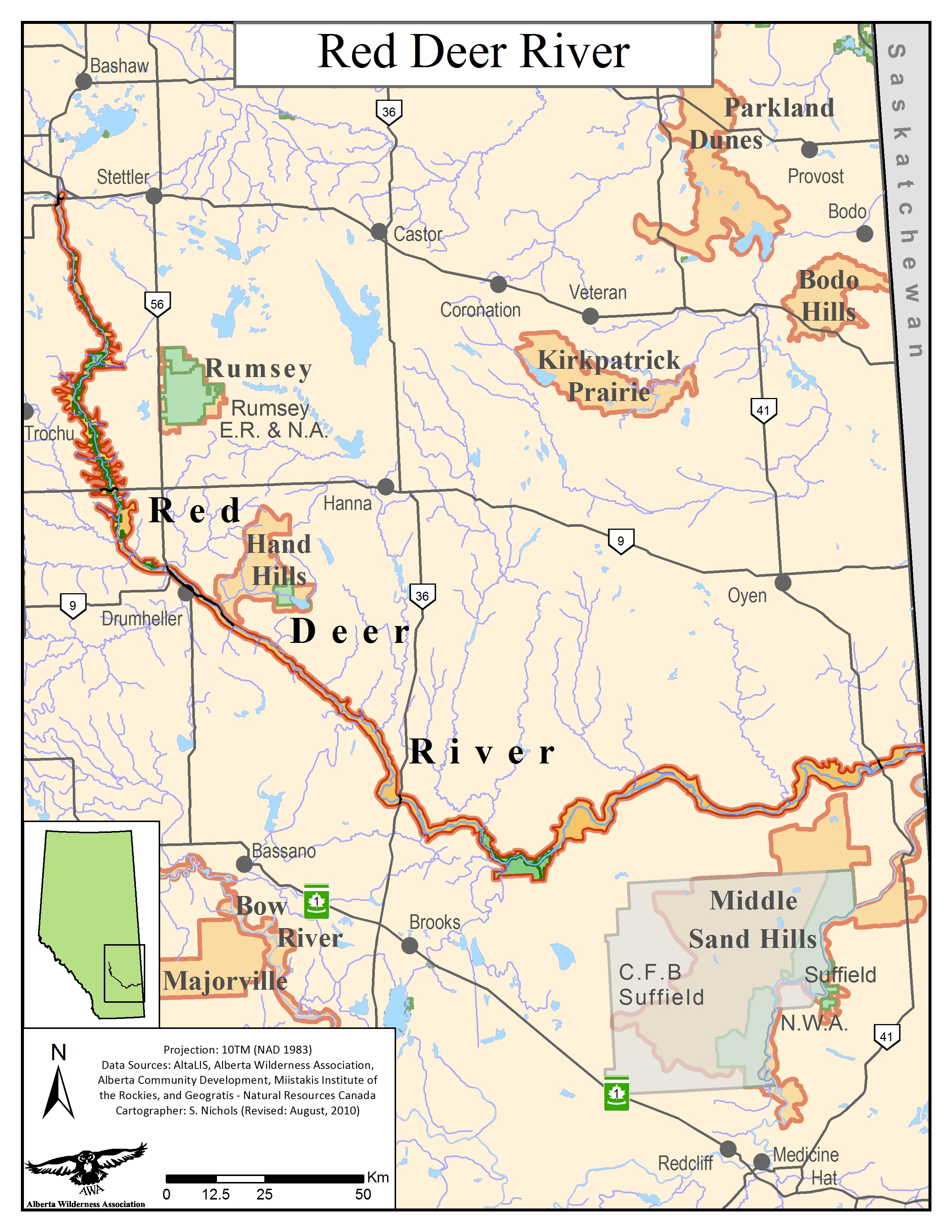 Red Deer Dump >> Red Deer River Alberta Wilderness Association