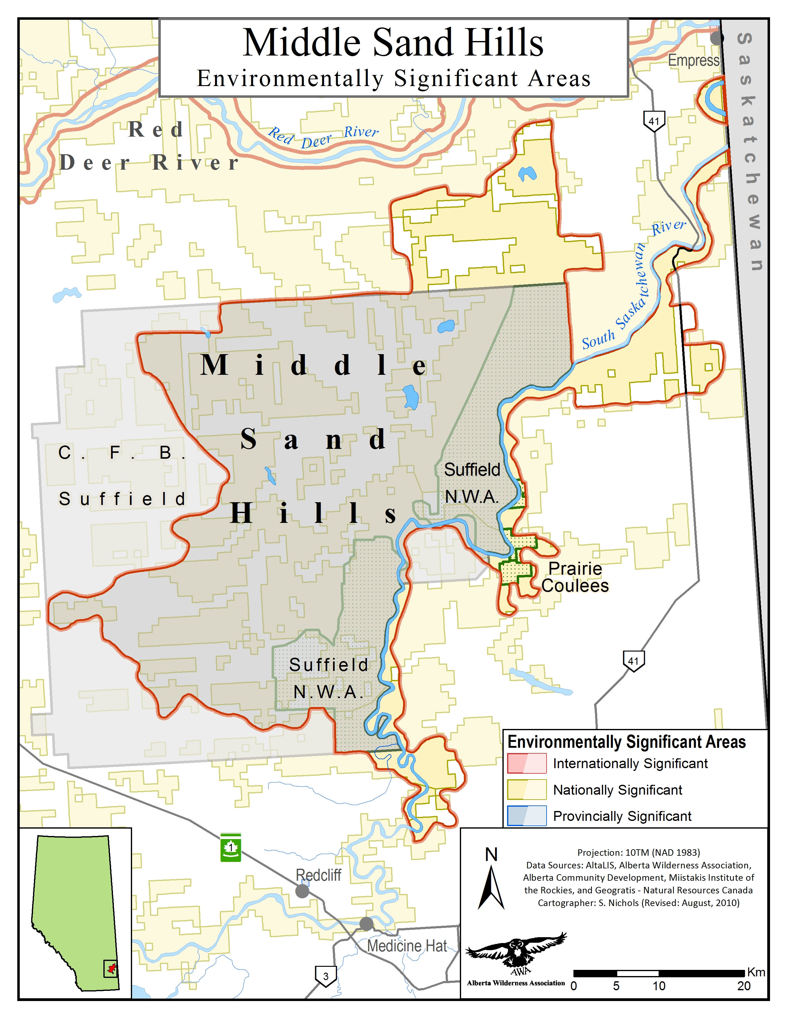 Middle Sand Hills - Alberta Wilderness Association