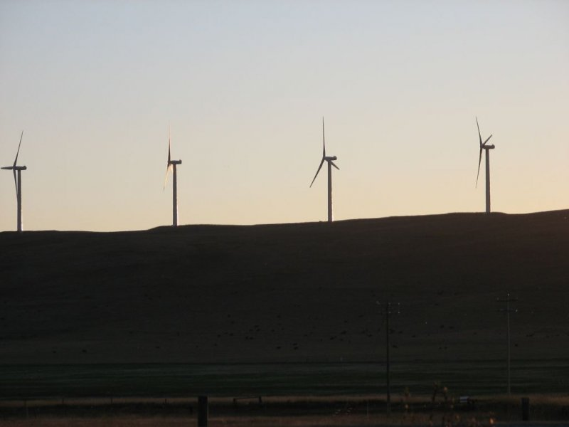Wind Farm, Pincher Creek AB